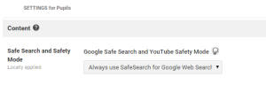 Force Safesearch for both Google and Youtube